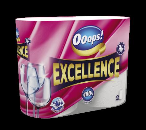 Ooops! Excellence 2 tekercses 3 rétegű papírtörlő