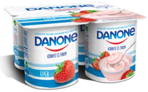 One of the oldest yogurt brand in Hungary has been renewed