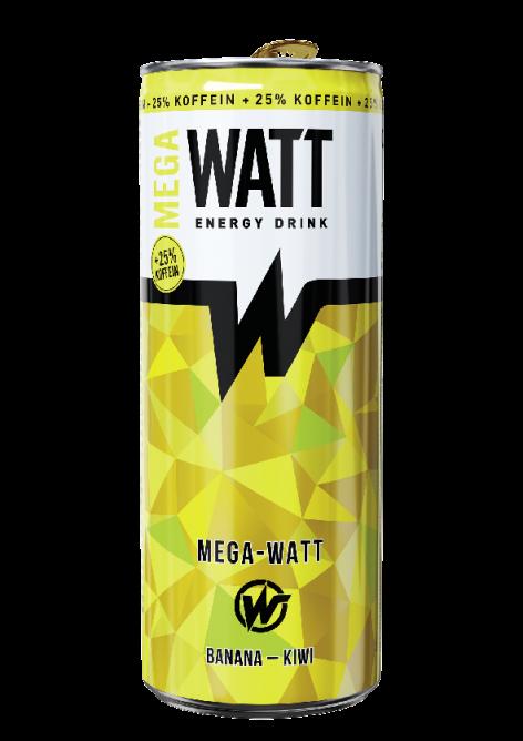 MEGA WATT Banán-Kiwi