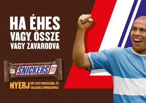 Világhírű focilegendával kampányol a Snickers