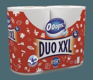 Ooops! Duo XXL 2 tekercses 2 rétegű papírtörlő