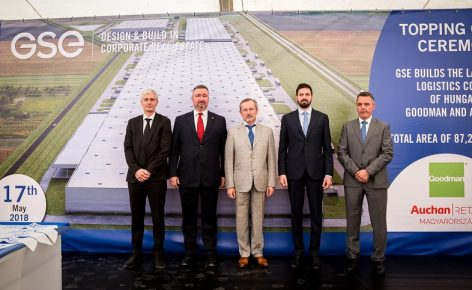 GSE Hungária: the largest logistic center in Hungary is under construction