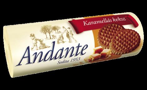 Andante termékcsalád – ostyák és kekszek a család minden tagjának