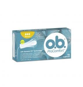 o.b.® ProComfortTM tampon