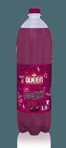 Queen meggy, málna, szőlő üdítőital