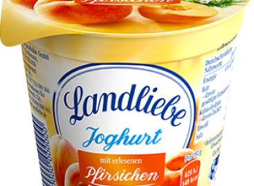 Kevert gyümölcsjoghurtokkal bővít a Landliebe