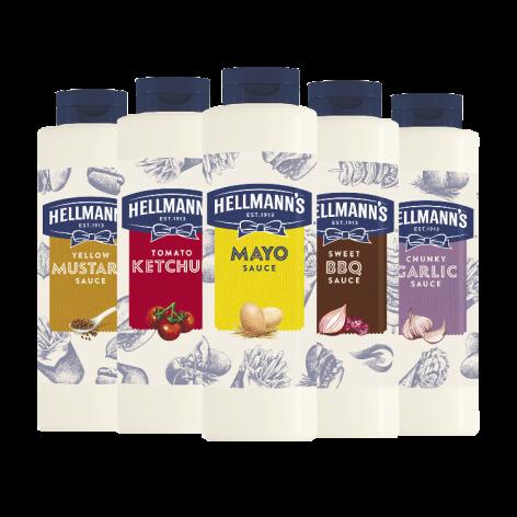 Új Hellmann's Street Food termékcsalád