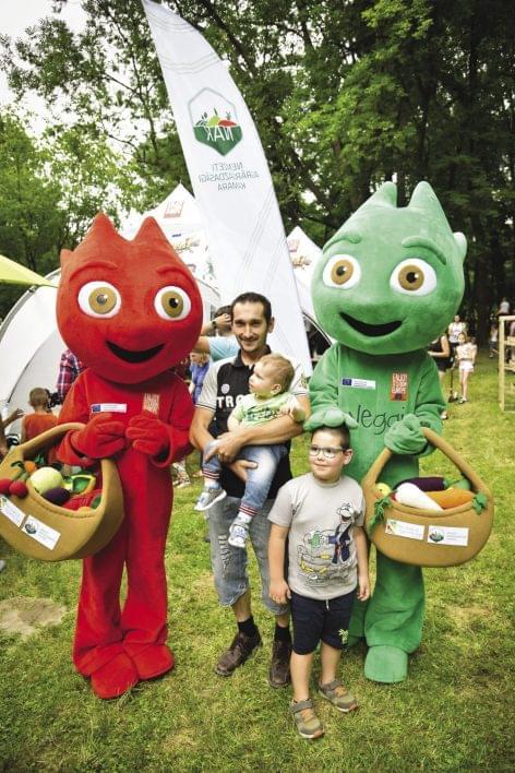 Júniusban is folytatódtak Frutti és Veggi kalandjai