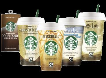 Starbucks® RTD fogyasztásra kész italok