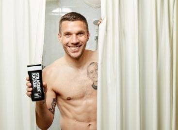 Lukas Podolski válogatott focistával fejlesztett új exkluzív márkát a dm