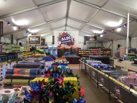 Megdőlt a vásárlószám rekord a Szigeten található ALDI-üzletben