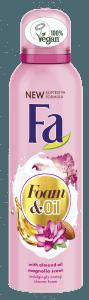 Új Fa Foam&Oil tusfürdőhabok