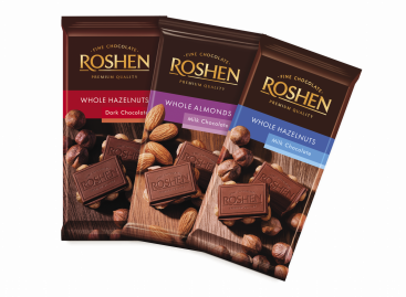 Roshen táblás csokoládék