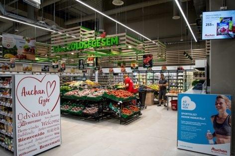 Auchan szupermarket nyílt Győrben