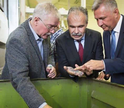 Átadták a Sotiva Seed Kft. beruházását Tiszavasváriban