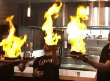 Flambírozási és tűzoltási technikák – A nap videója