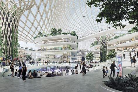 A közeli jövő bevásárlóközpontja