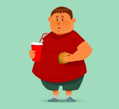 Is there a link between being overweight and forgetfulness?
