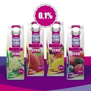 RISKA Drink&Go ivójoghurt 450 g