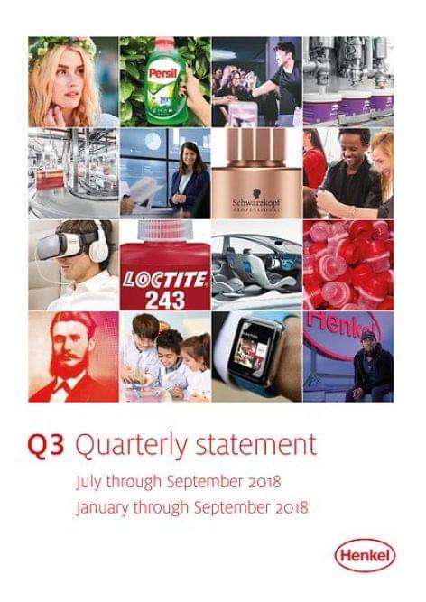 A Henkel pozitív eredményekről számolhat be a harmadik negyedévben