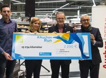 Tizenötezer kilométert futottak az Auchan munkatársai az SOS Gyermekfalvak lakóiért