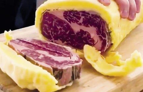 New steak aging method