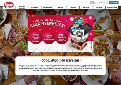 Különdíjat kapott a Sága új honlapja