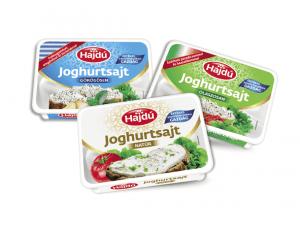 Hajdú joghurtsajtok új csomagolásban