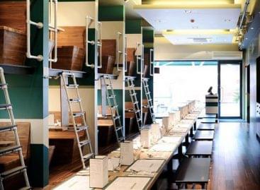Egy londoni étterem, ami önmaga karikatúrája – A nap képe