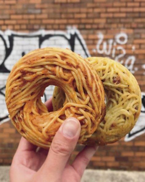 Spaghetti to-go!