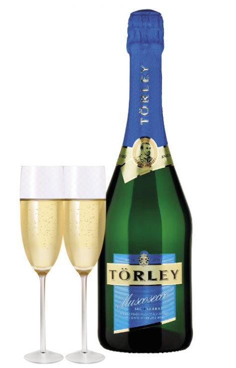 Tank-fermented dry muscat sparkling wine