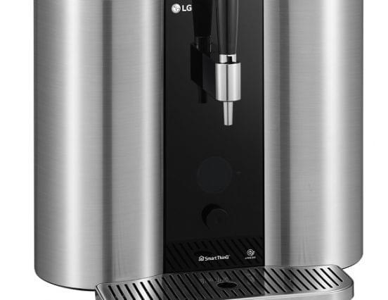 Az LG kapszulás sörkészítő rendszert mutat be a CES-en
