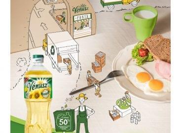 Csomagolásfejlesztéssel is gondoskodik a környezetről a Vénusz