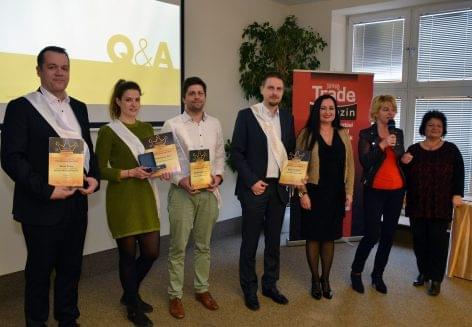 Az Év Trade Marketingese 2018 verseny díjazottjai