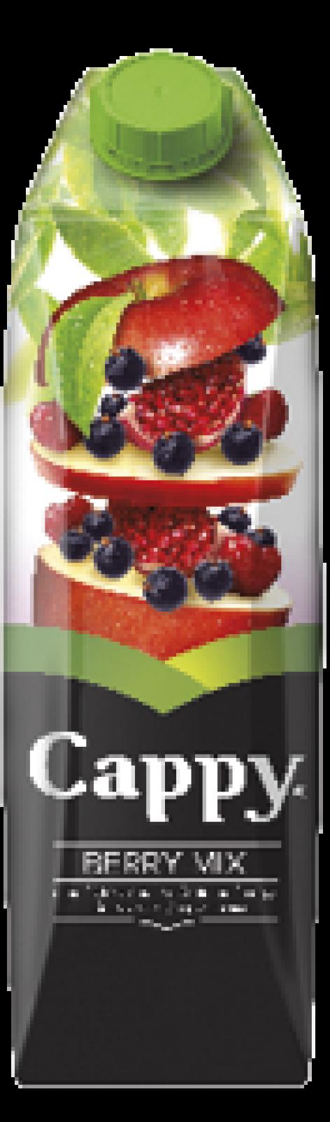 Cappy gyümölcsitalok 1 l-es kiszerelésben, új Tetra Pak csomagolásban