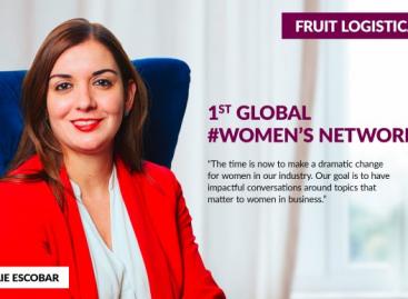 Az első Global Women's Network a 2019-es Fruit Logisticán