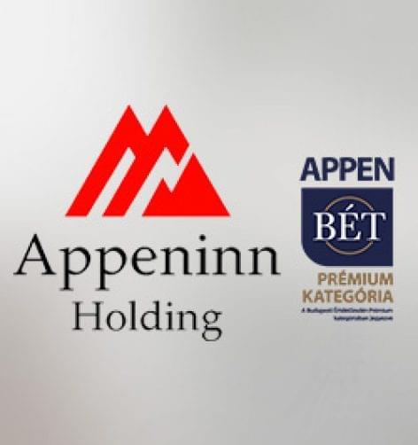Tavaly 93 000 négyzetméterre nőtt az Appeninn Nyrt. kereskedelmi ingatlanokból álló portfóliója