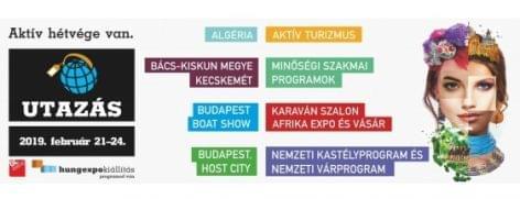 Az idén február 21-én nyílik az Utazás 2019 kiállítás
