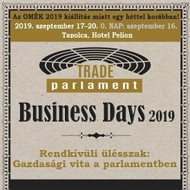Business Days 2019. szeptember 17–20. <br>0. nap 2019. szeptember 16.