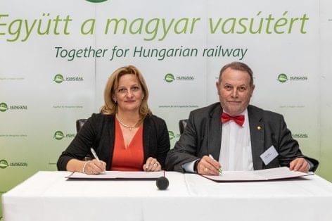 A vasúti árufuvarozás bővítése érdekében együttműködési megállapodást kötött a ChinaCham Hungary és a HUNGRAIL