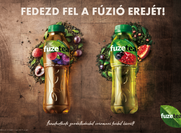 The new flavors of FUZETEA to debut in Hungary