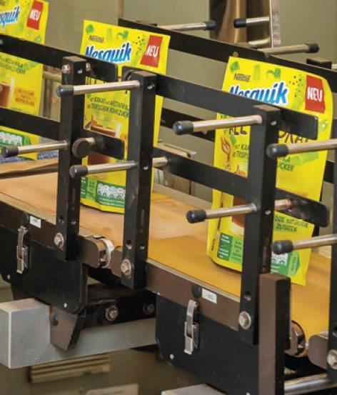 NESQUIK kakaópor újrahasznosítható papírcsomagolásban