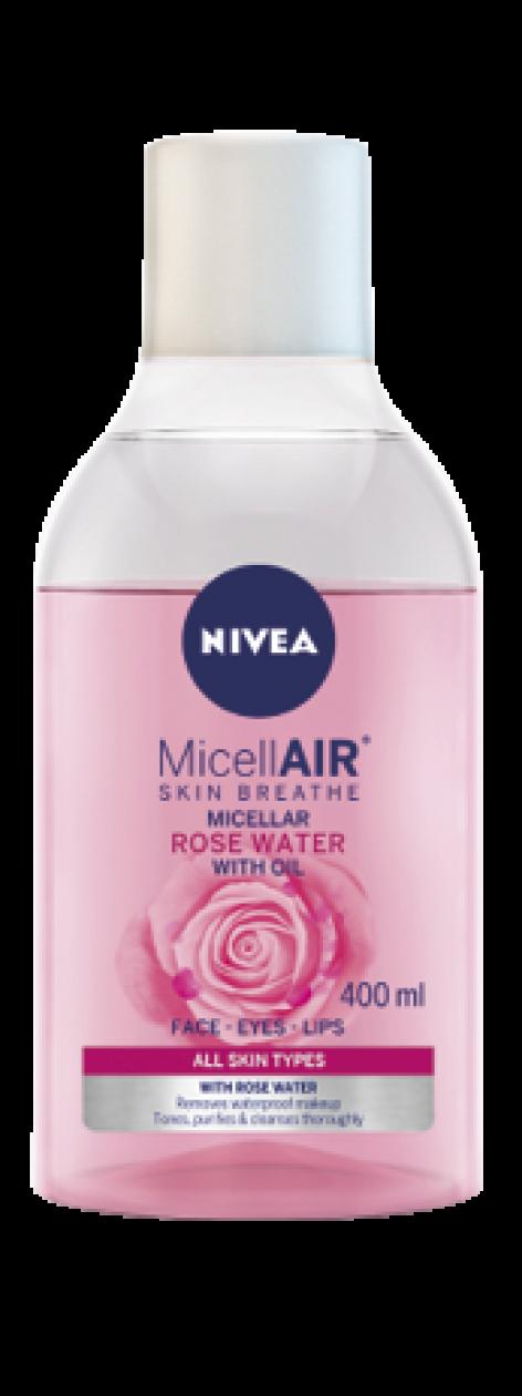 NIVEA Rózsavizes Micellás tisztítók – Az arctisztítás új generációja