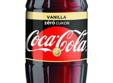Itt a Coca-Cola zero Vanilla