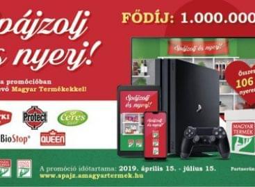 Bespájzol nyereményjátékból a Magyar Termék