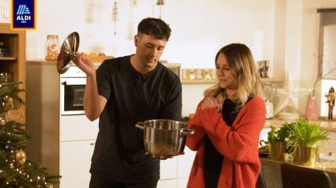 Influencerekkel főz együtt az Aldi Süd