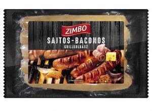 ZIMBO E-mentes grillkolbászok
