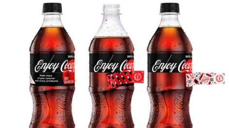 """Coca-Cola integrates """"Sip & Scan"""" technology into summer bottles and cans"""