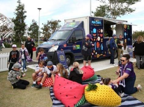 Aldi Ausztrália: food truckkal a gyerekek egészségéért