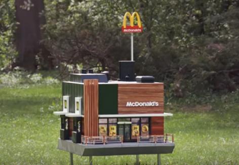 Megnyílt a világ legkisebb McDonald's étterme